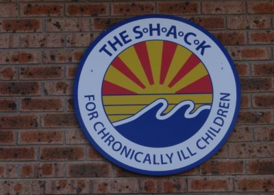 SHACK sign